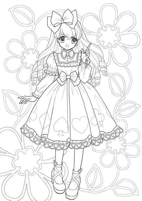 Coloring Diary For Adlt A Blossom Ranggi Ariliah coloring pages nurie kawaii coloring coloring and coloring pages