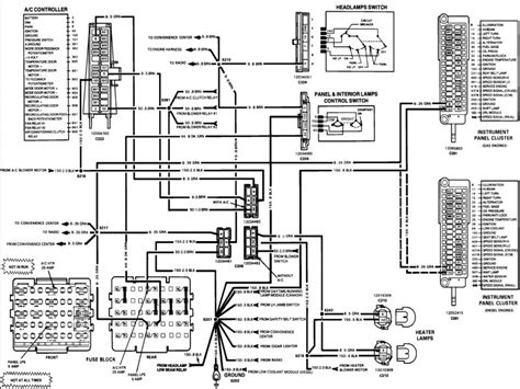 free 1993 chevy silverado wiring diagram wiring diagram