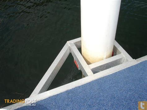 boat parts second hand pontoon dry berth system piled 6m x 2 5m second