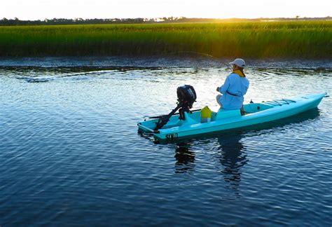 skiff travel the solo skiff a fishing kayak with a kick