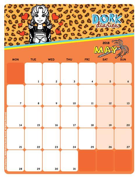 Ccp Calendar May Calendar Ccp Fashion Dork Diaries