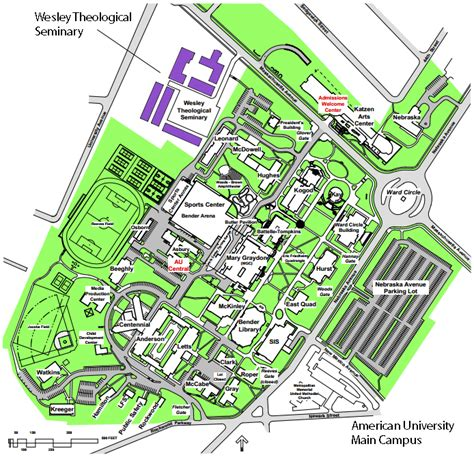 american universities map local graduate student housing
