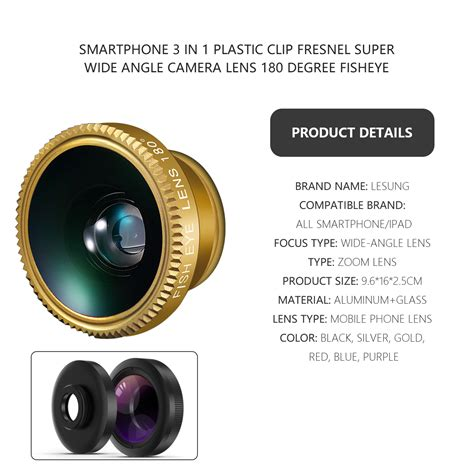 wide angle mobile lens drop shipping 3 in one 1 wide angle fisheye lens for
