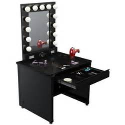 Makeup Vanity Table With Lights Broadway Lighted Vanity Makeup Desk Black Vanity Makeup Polyvore