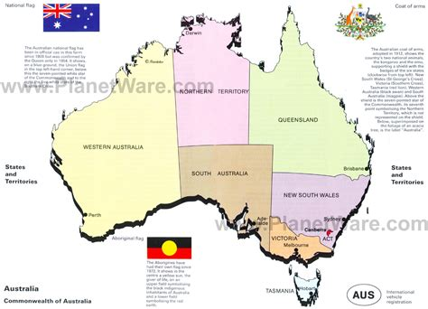 map of australia with states opinions on states and territories of australia