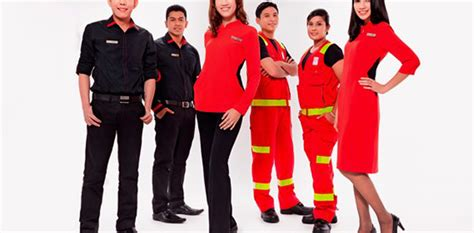 airasia uniform celest thoi designs ground crew uniforms for airasia
