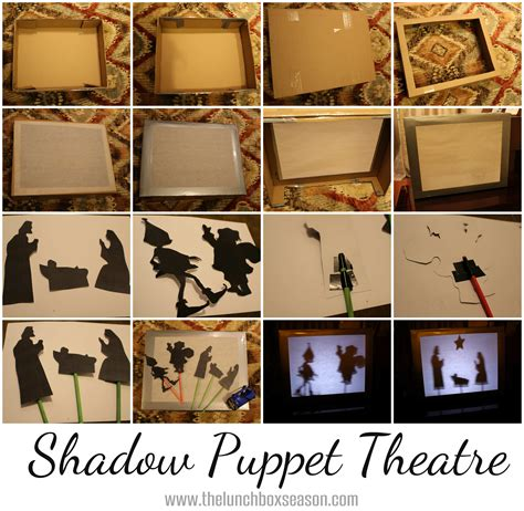 How To Make Paper Shadow Puppets - family advent calendar day 12 make a shadow puppet