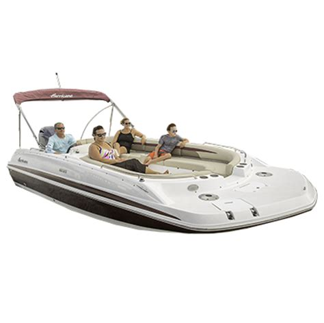 deck boat with jet drive hurricane boats homepage hurricane deck boats