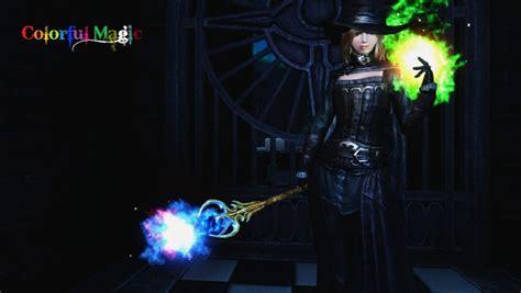 colorful magic colorful magic elder scrolls skyrim images page 2