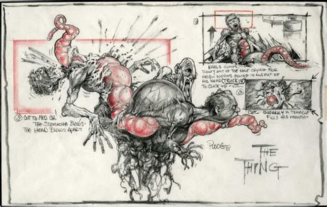 S Drawing Thing by Carpenter S The Thing Mikeploog Missingpieces