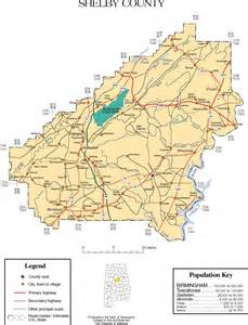 maps of shelby county