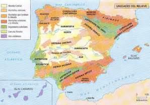 Javier Gutierrez: Mapa reliveve de España