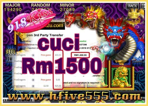 kiss  dragon  game  menang besar  tahniah boss cuci rm  games