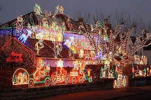 best christmas decorated homes outdoor christmas decoration ideas