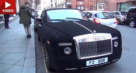 velvet rolls royce velvet wrapped rolls royce phantom drophead is so smooth