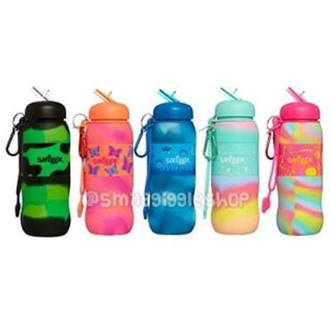 jual smiggle blended silicone roll bottle smile giggle