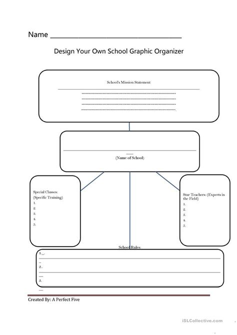 layout worksheet design your own school worksheet free esl printable
