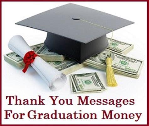 Thank You Letter Graduation Money Thank You Messages Graduation