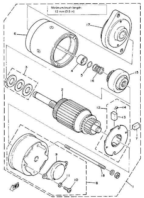 a panel of yamaha enticer 340 wiring diagrams