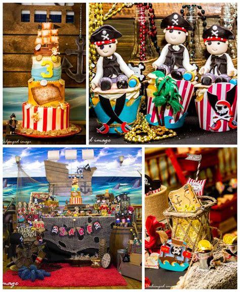 pirate themed birthday decorations kara s ideas pirate themed birthday via kara s