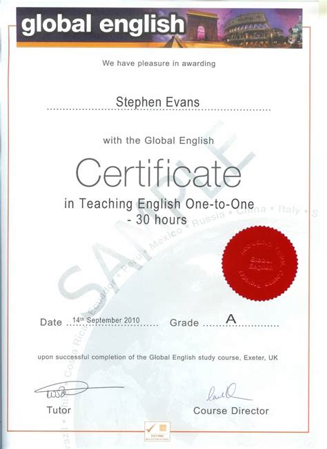 30 hour teaching english one to one global english