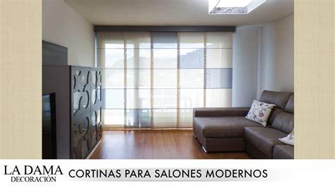 estores para salones modernos cortinas para salones modernos youtube