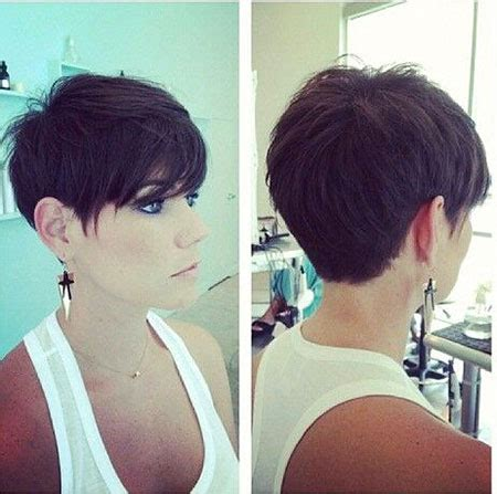 chop cute short haircuts back and front super short haircuts front and back view haircuts models
