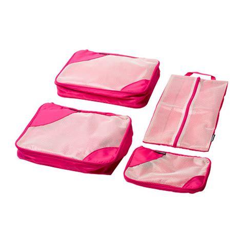 Beg Ikea uppt 196 cka beg kecil set 4 unit merah jambu ikea