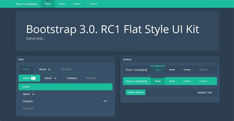 bootstrap themes free flat bootstrap 3 0 v theme flat dark ui bootstrap themes on