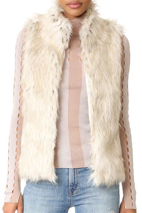 faux fur best 9 best faux fur vests for winter 2018 faux fur and