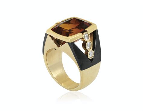 citrine and ring christie s citrine and ring
