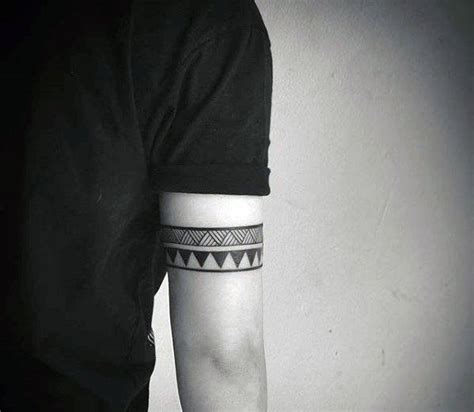 tricep tribal tattoos 50 tribal armband designs for masculine ink ideas