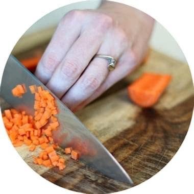 tagli in cucina tagli delle verdure in cucina