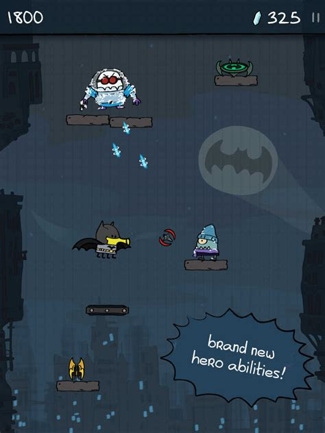 doodle jump dc superheroes cheats cool new doodle jump dc heroes for iphone and