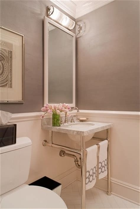 bathroom chair rail pictures chair rail in the bathroom with wide baseboard in matching