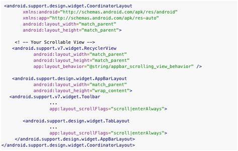 xml layout scrollable android开发最佳实践 爱程序网