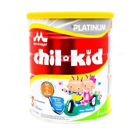 Chilkid Vanilla 800 Gr jual morinaga chilkid platinum vanilla tahap 3 kemasan baru 1 3 tahun 800gr harga