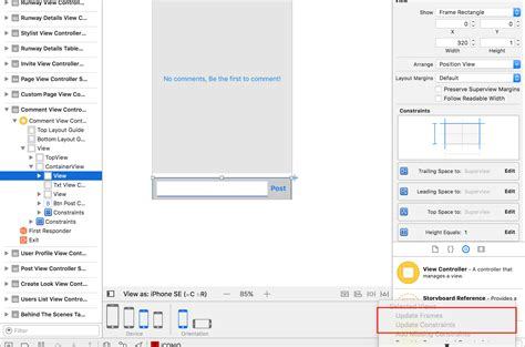 ios autolayout xcode 6 ios how to make elements fit autolayout in xcode ib