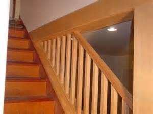 basement stair handrail basement stair handrails quotes