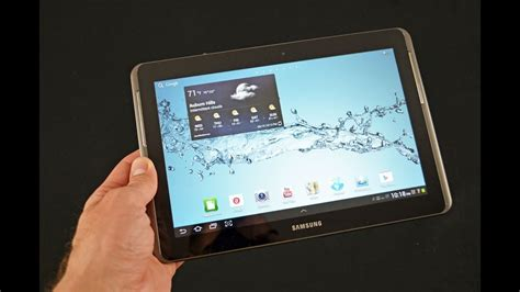 samsung tab a 10 1 samsung galaxy tab 2 10 1 quot unboxing review