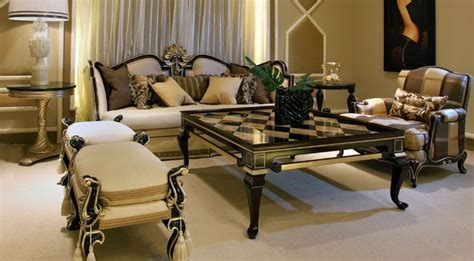 italian living room furniture sets paint finish on side of coffee table and circular side