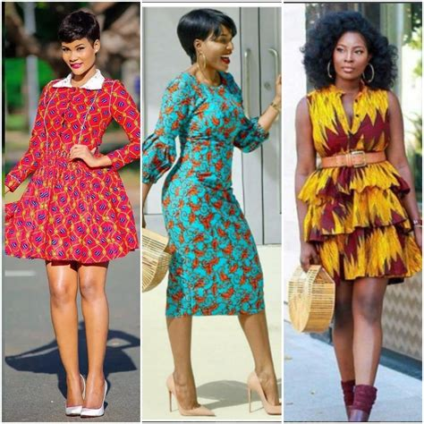 Simple Ankara Styles For Slim Ladies