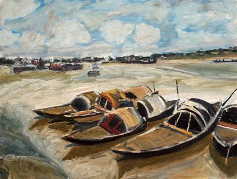 buy a fishing boat in india buy painting boat artwork no 3045 by indian artist alpana