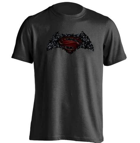 Kaos Tshirt Batman Vs Superman Printing batman vs superman batman superman mashup mens womens