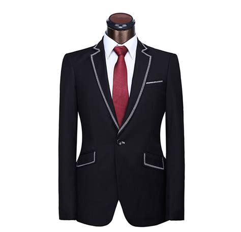 Handmade Suits - new custom suits black jacket plus size xs 4xl