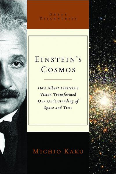 einstein biography barnes and noble einstein s cosmos great discoveries series by michio