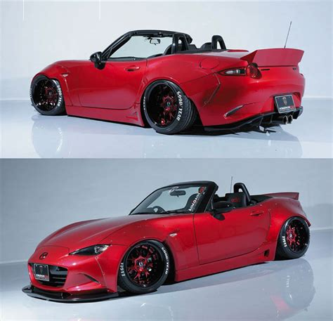 widebody miata spotlight aimgain mazda mx 5 wide body