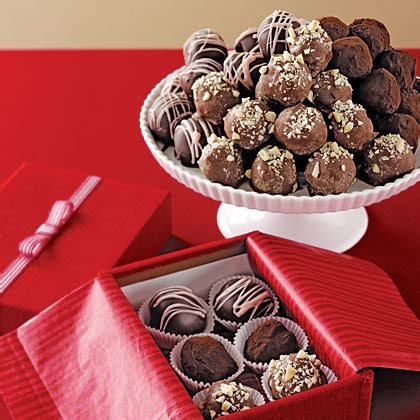 hazelnut truffles recipe myrecipes