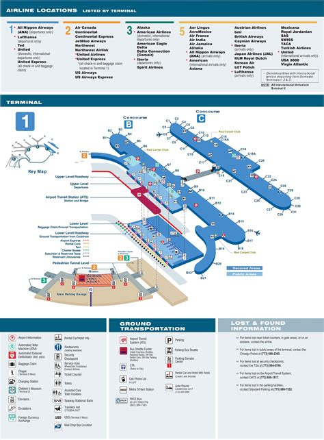 o hare terminal map o hare terminal 1 map map of o hare terminal 1 united states of america