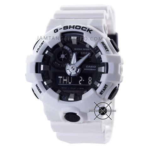 G Shock Warna Putih gambar g shock ori bm ga 700 7a warna putihbagian belakang
